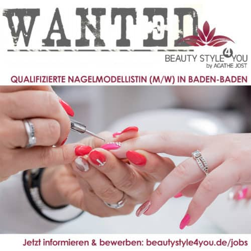 Stellenangebot Nagelmodellistin in Baden Baden