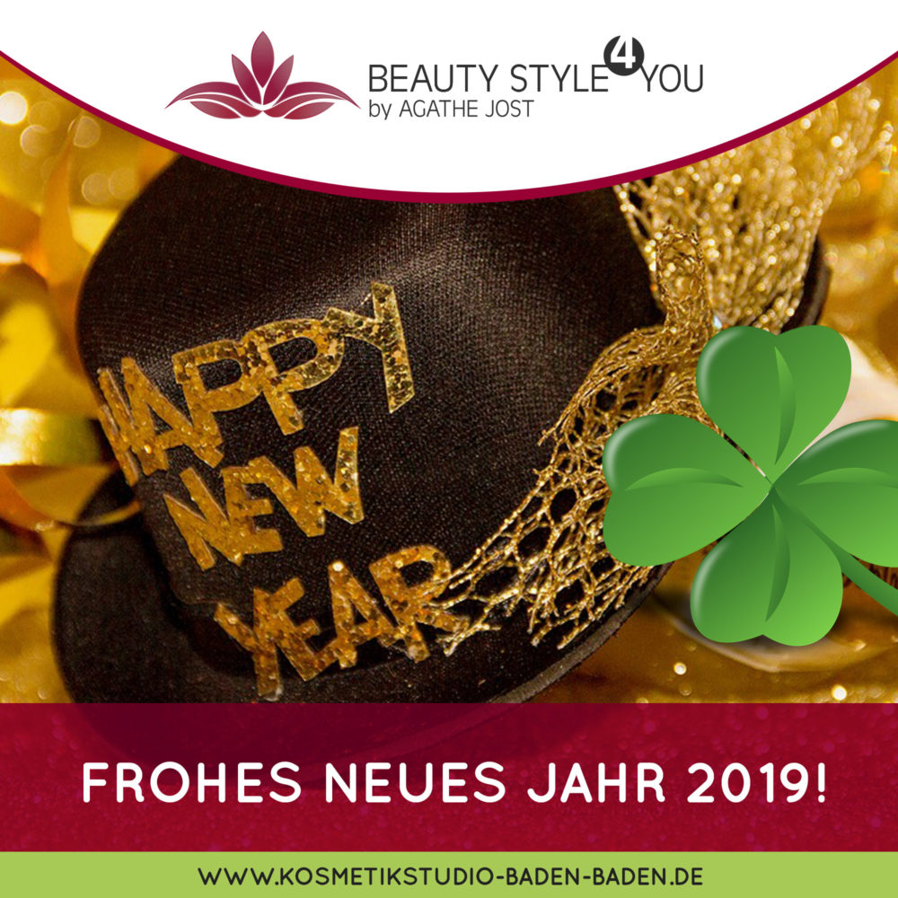 Kosmetik- & Nagelstudio in Baden Baden - Neujahr 2019