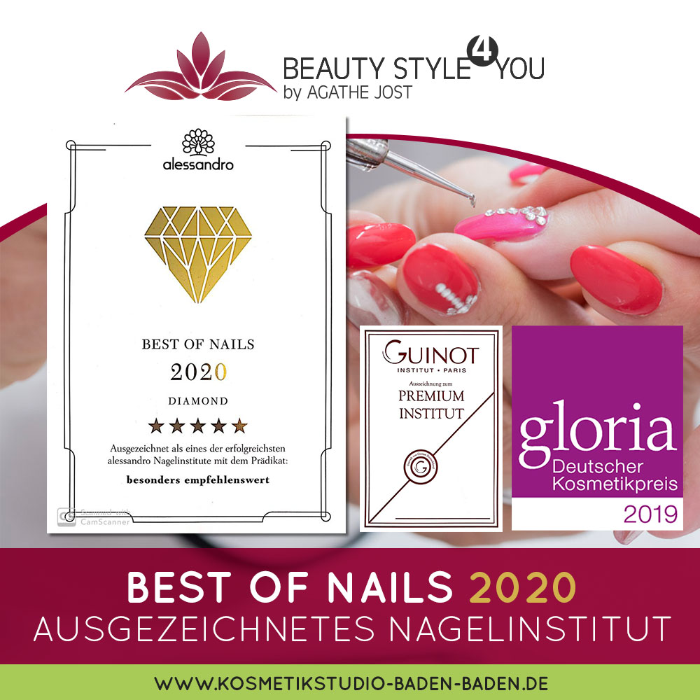 2020 Best of nails - Nagelstudio in Baden Baden | Beautystyle4You