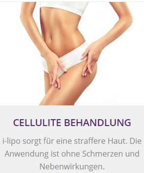 Cellulite Behandlung in Baden-Baden - i-lipo