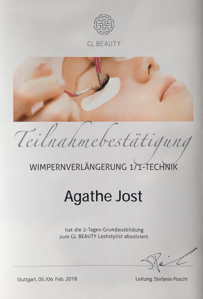 Grundausbildung - GL-Beauty-Lashstylist - Wimpernerlängerung