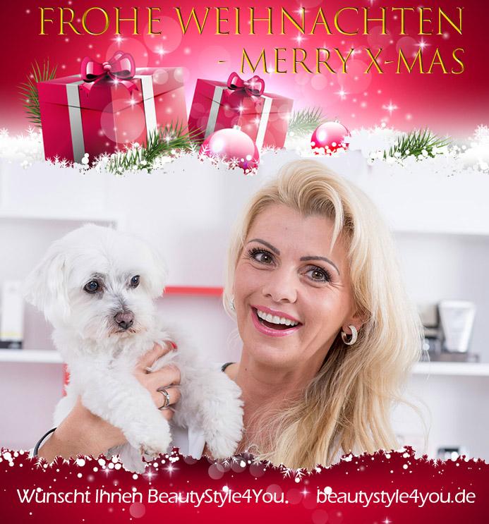 Frohe Weihnachten und ein tolles Jahr 2018 wünscht Ihr BeautyStyle4You Team