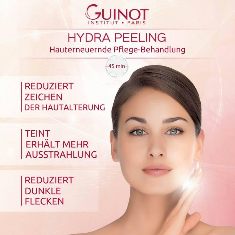 Kosmetikstudio in Baden-Baden - Hydra-Peeling Guinot